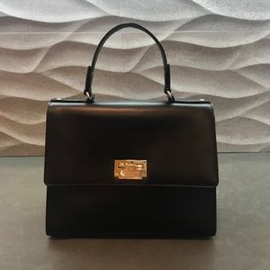 Lovely Kate Spade Hermes Kelly Design Flap Handbag